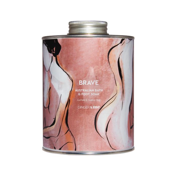 G&ME Body - Be BRAVE Bath Salts - Xmas 20
