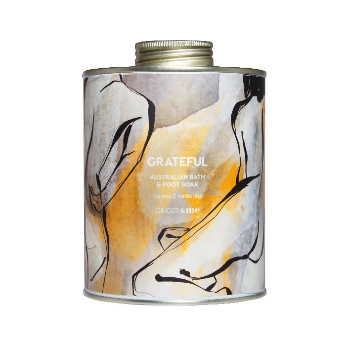 G&ME Body - Be GRATEFUL Bath Salts - Xmas 20
